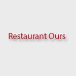 Restaurant Ours Drink Menu