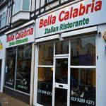 Bella Calabria menu