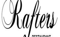 Rafters Restaurant menu
