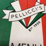 E Pellicci menu